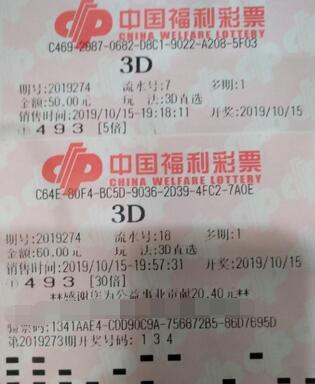 两个指标玩3d,湖北江夏小伙常中大奖