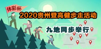 体彩杯2020贵州登高健步走活动九地同步举行